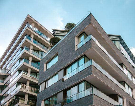 Et leilighetsbygg