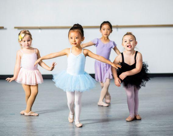 Barn danser ballet