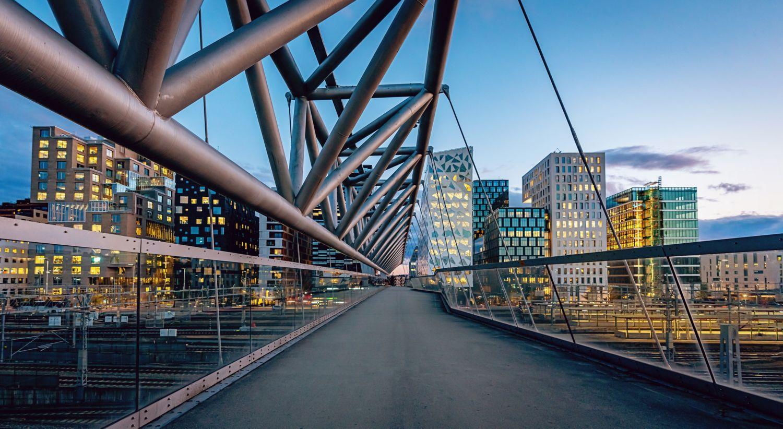 Bjørvika Arobaten bro