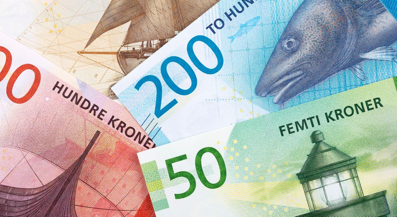 Bilde av penger.
