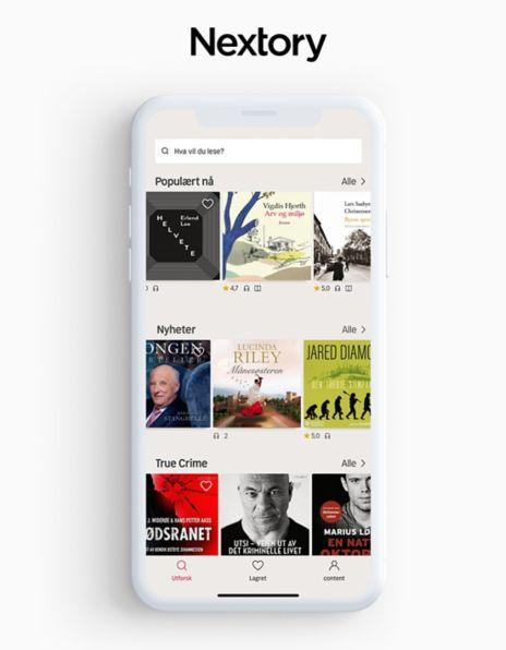 Nextory app