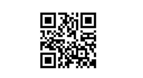 QR-kode for nedlasting av app