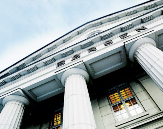 Oslo Børs fasade
