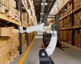 Robot på varelager