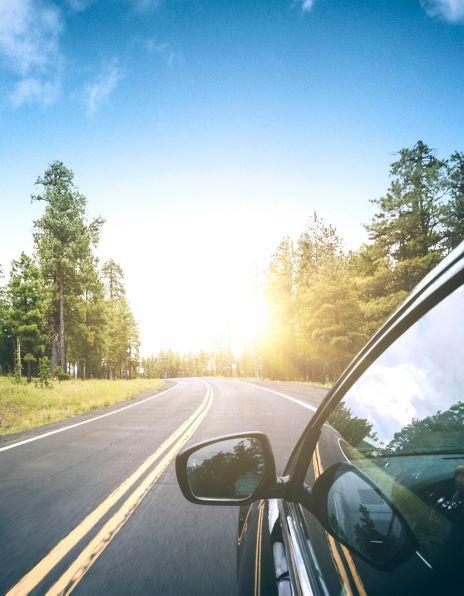 Bil på vei